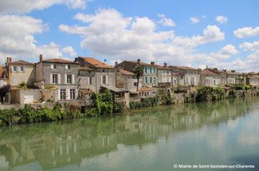 Maisons de Charente les pieds dans l'eau